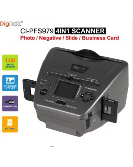 ★ Digitalk 4 in 1 Combo Photo Film Slide Scanner
